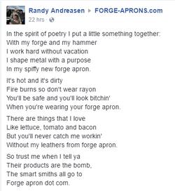 Apron Poem