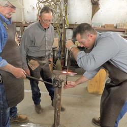 learning to blacksmith