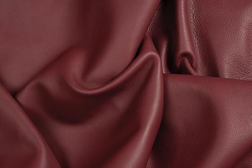 Super-Soft Burgandy Leather