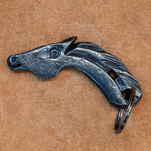 Key Ring-Horse on a Horseshoe
