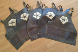 Half Face Blades knifemakers aprons