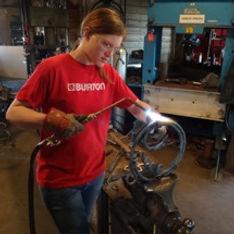David Norrie Blacksmithing Classes Level 2