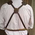 Fully adjustable and removable strap system makes Forge-Aprons the most comfortable blacksmith apron on the market