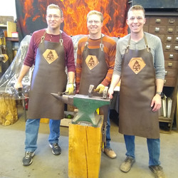 Brothers make proud blacksmiths
