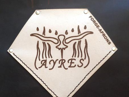 Customize your blacksmith apron with your logo!