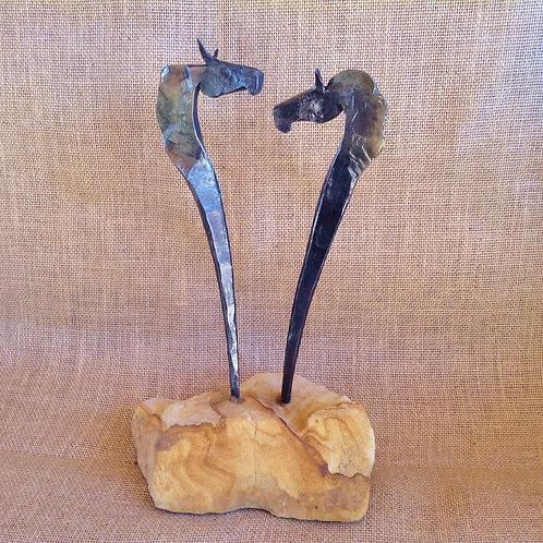 Sculpture- 2 Horse
