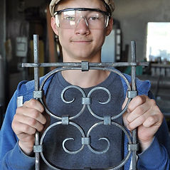 traditional joinery techniques are taught at Forge with Intention Blacksmithing School