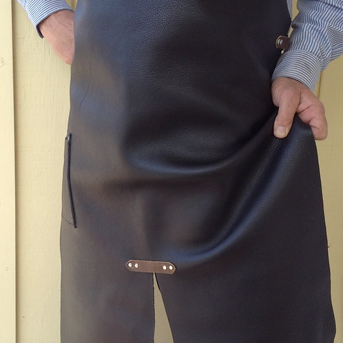 Super-Soft Black Leather