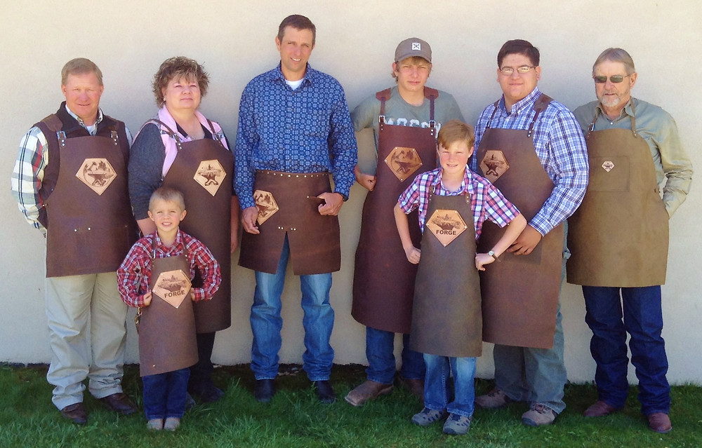 Eight Aprons to choose from