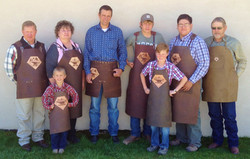 Eight Forge Aprons to choose from