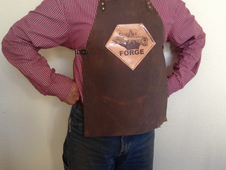 Need a better fitting blacksmith apron?