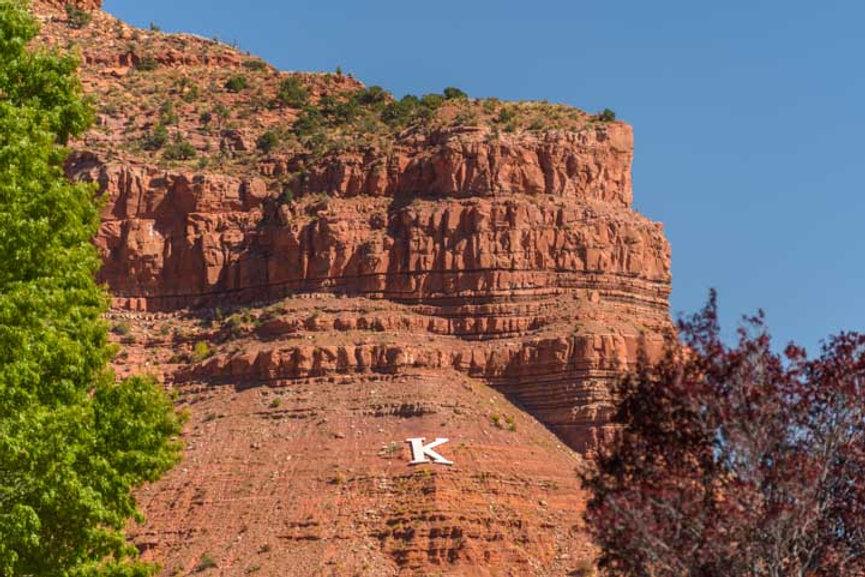 Kanab's Red Rock Cliffs