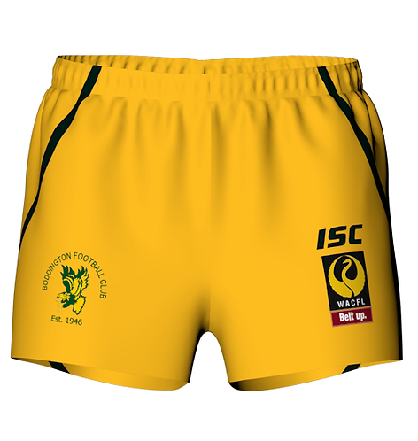 Playing Shorts Yellow