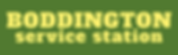 Plain BP Boddington Service Station Logo