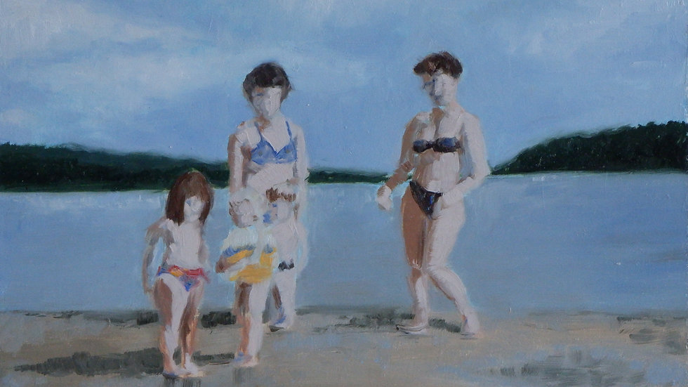 Sketches from a Childhood - The Beach