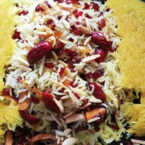 האדום האדום הזה- אורז עם תמר סיני, זרשק וזעפרן (חלק ב')
