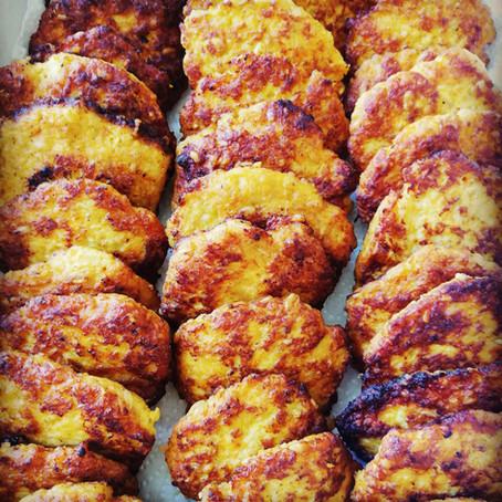 גונדי טבה - קציצות עוף, גזר וקמח חומוס קלוי