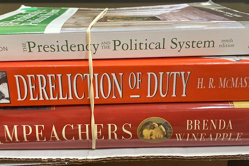 History Commentary Presidential politics