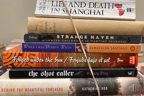 Autobiographies Life and death in Shanghai, Franz Kafka, strange Haven, when I w