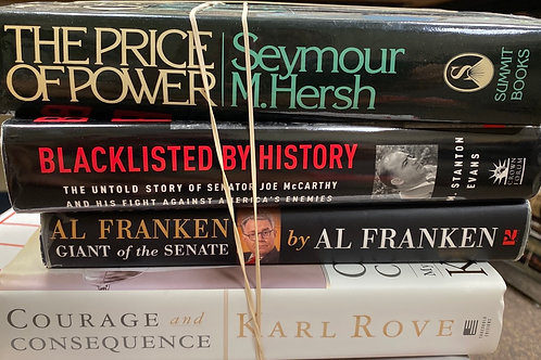 History Commentary, Hirsch, McCarthy, Franken, Rove