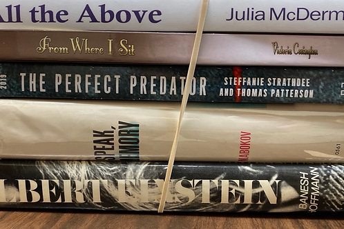 Autobiographies Julia McDermott, Victoria Covington, Banesh Hoffman, Nabokov, t