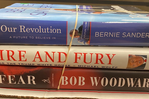 History commentary, Woodward, Wolff, Bernie Sanders