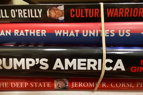 History Commentary politics, O'Reilly, Rather, Gingrich