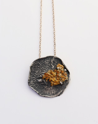 Dreaming of Lichen Necklace