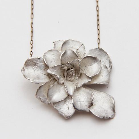 Delicate Echerveria Necklace