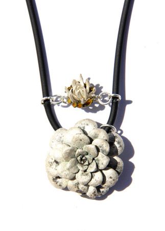 Blob Lichen Necklace