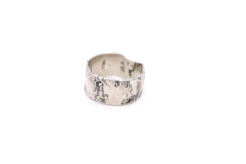 Textured Lichen Ring