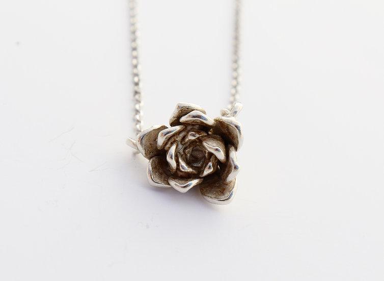 Delicate Echeveria Necklace