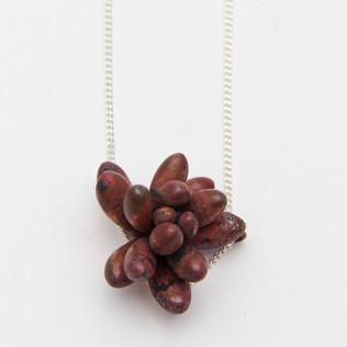 Copper Blob Necklace