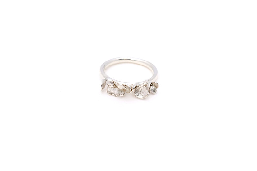 Delicate Sedum Dance Ring