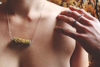 In Love Lichen Necklace
