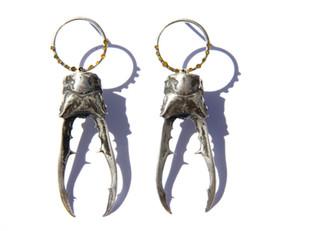 Lichen Stag Earrings