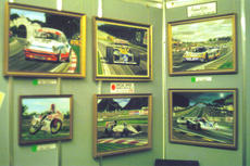 Early days! Exhibition at the Racing Car Show, London Olympia 1990.