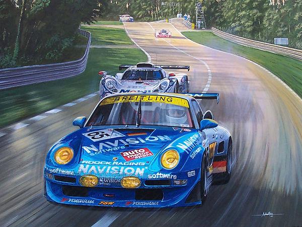 Porsche GT2 Le Mans 1998