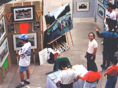 Exhibition at the US Grand Prix, Phoenix 1991