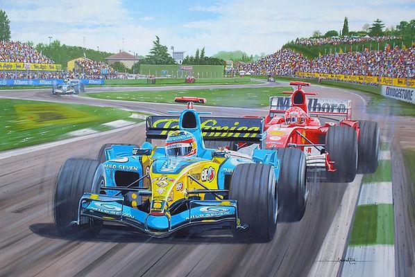 205-F1-Renault-Fernando Alonso - 2005 Wo