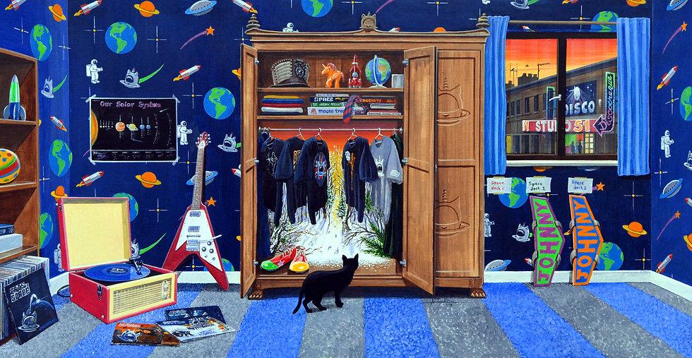 Johnny Rocket's Bedroom