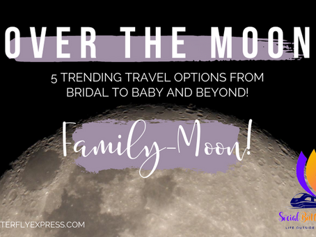 Over the Moon: 5 Trending Travel Options from Bridal to Baby and Beyond!  Part 4: Family-Moon