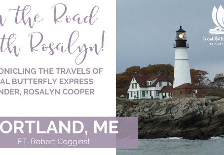 On The Road with Rosalyn: Portland, ME!  GUEST POST!
