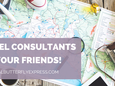 Travel Consultants Are Your Friends!