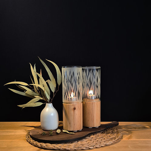 Flames Candle Holders