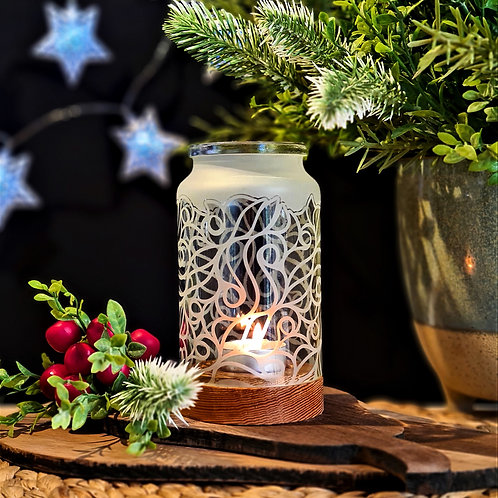 Tall Jar Candle Holders