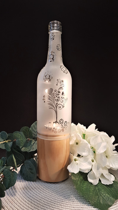 Elegant Pillar Candle Holder