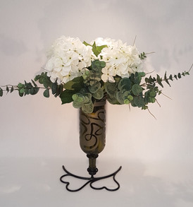 Vase on Heart Stand