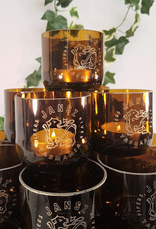 Custom Tea Light Candle Holders