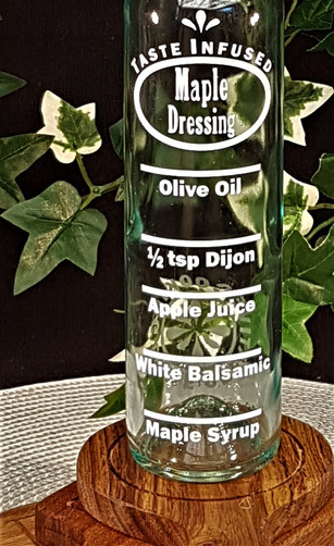 Maple Salad Dressing Jar